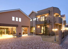 山之上の家
